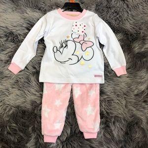 Disney Junior | Girl's Minnie Mouse PJ Set | Pink